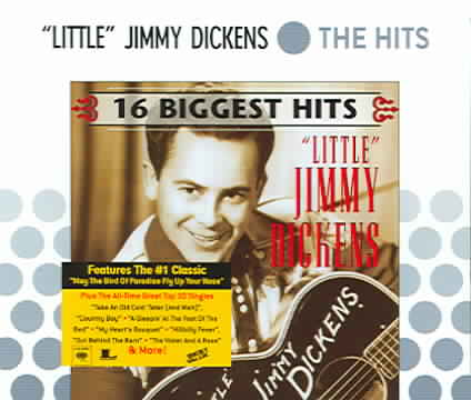 16 BIGGEST HITS BY DICKENS,JIMMY (CD)